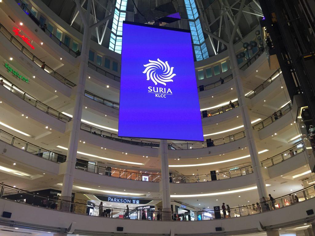 Suria KLCC - Shopping Mall Kuala Lumpur City Centre, Malaysia
